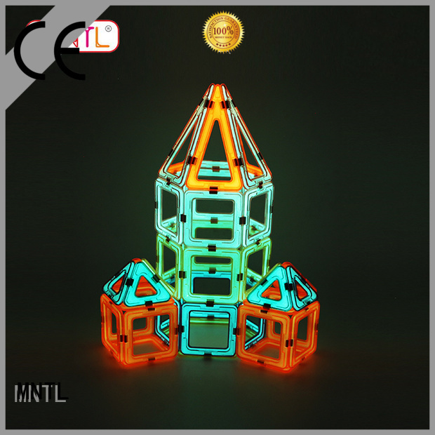 MNTL Red, magnetic blocks Magnetic Construction Toys For Children