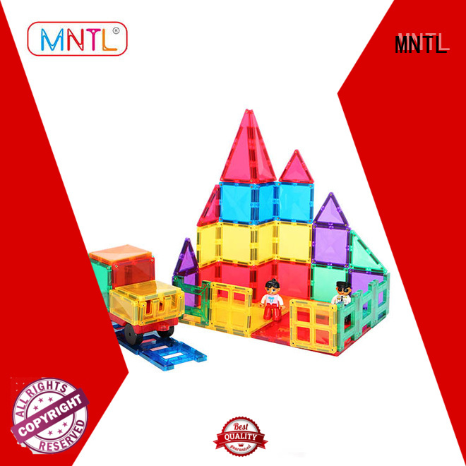 MNTL Breathable magnetic tiles Magnetic Construction Toys For kids