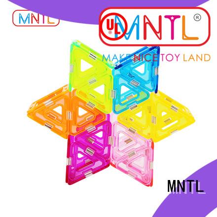 solid mesh Crystal magnetic toys strong magnet OEM For Toddler