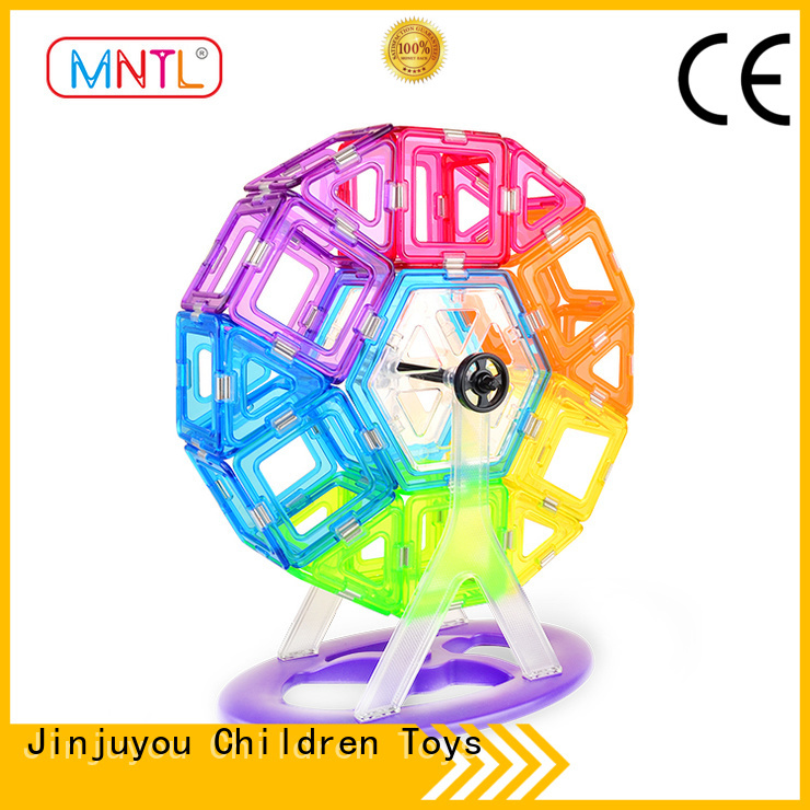 MNTL High quality Crystal Magnetic Building Blocks customization For Toddler
