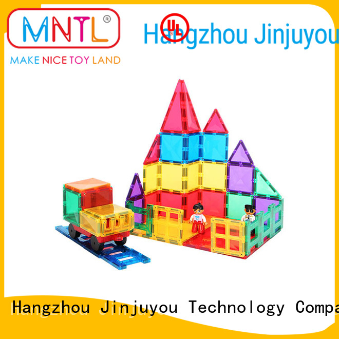 MNTL Red, magnetic building blocks DIY For 3 years old