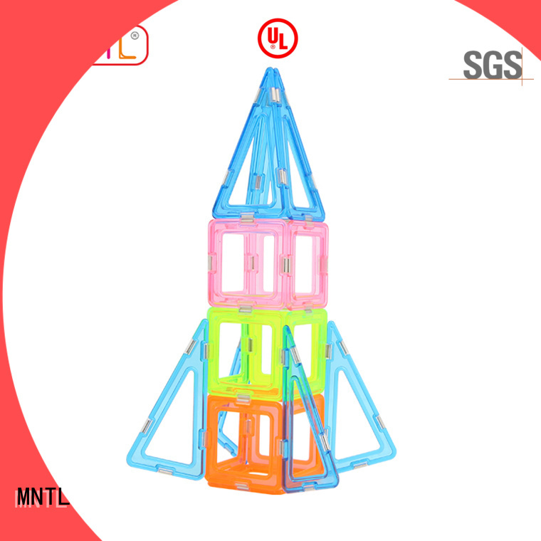 MNTL Conventional Crystal Magnetic Building Blocks supplier For kids