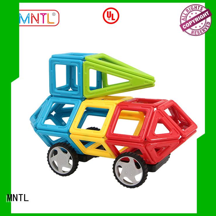 MNTL Magnetic Building Blocks A8163 Diy Toys for Kids - Educational 3D Magnets Game