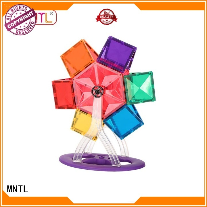 MNTL Breathable Magnetic Building Tiles Magnetic Construction Toys For 3 years old