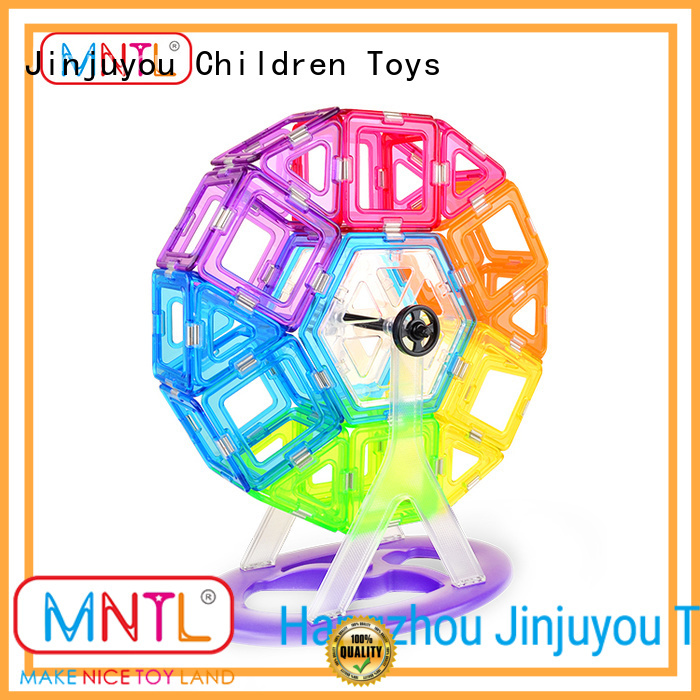 MNTL latest Crystal Magnetic Building Blocks bulk production For Children