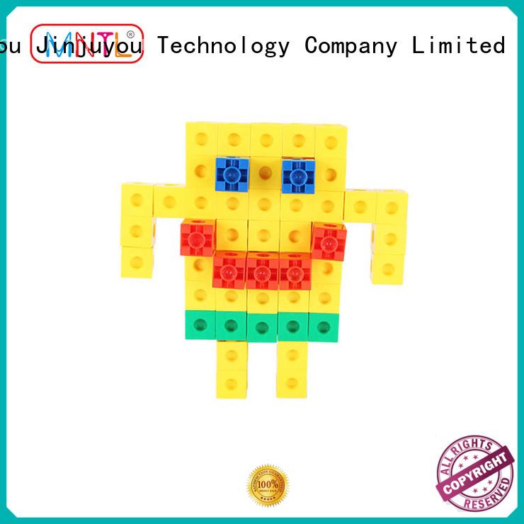 MNTL Recreational Plastic building toys strong magnet For Toddler