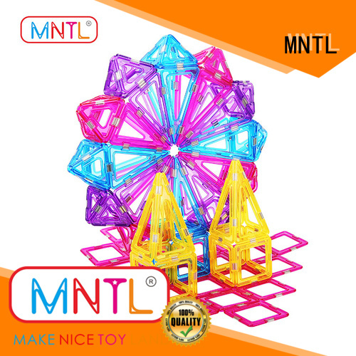 MNTL strong magnet magnetic squares and triangles free sample For Toddler