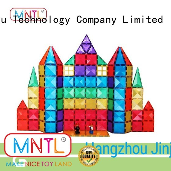 MNTL yellow, magnetic building blocks Magnetic Construction Toys For 3 years old