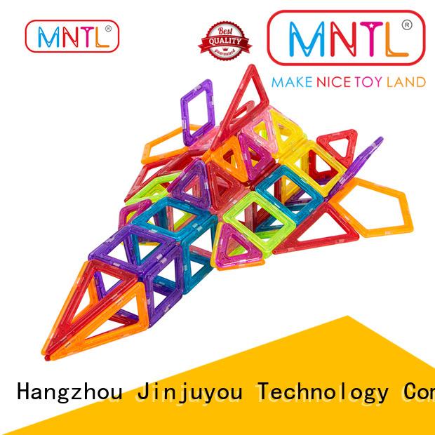 MNTL deep blue Mini Magnetic Building Blocks free sample For Children
