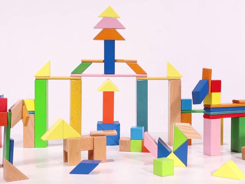 Magnetic Building Block Display Video