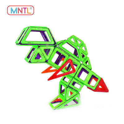 MNTL  A110 66 Pieces Magnetic Building Game Blocks, Magnetic Construction Toys
