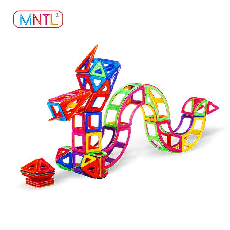 MNTL rose red magnet toy building blocks Magnetic Construction Toys For Toddler-2