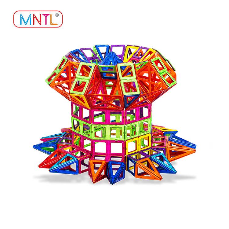 MNTL rose red magnet toy building blocks Magnetic Construction Toys For Toddler-1