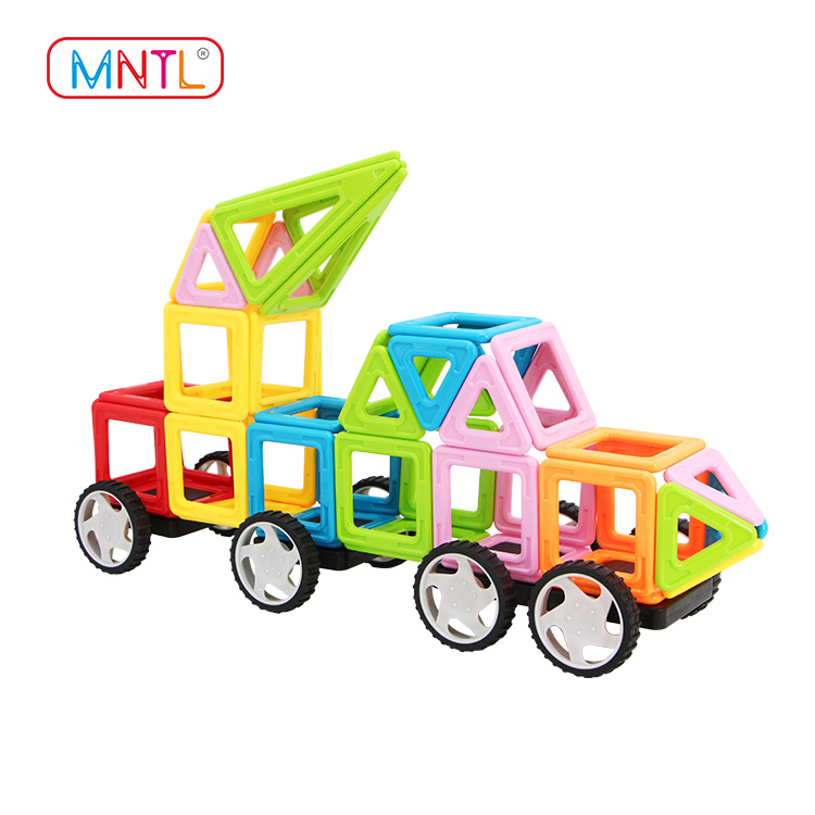 MNTL Magnetic Building Blocks A8163 Diy Toys for Kids - Educational 3D Magnets Game