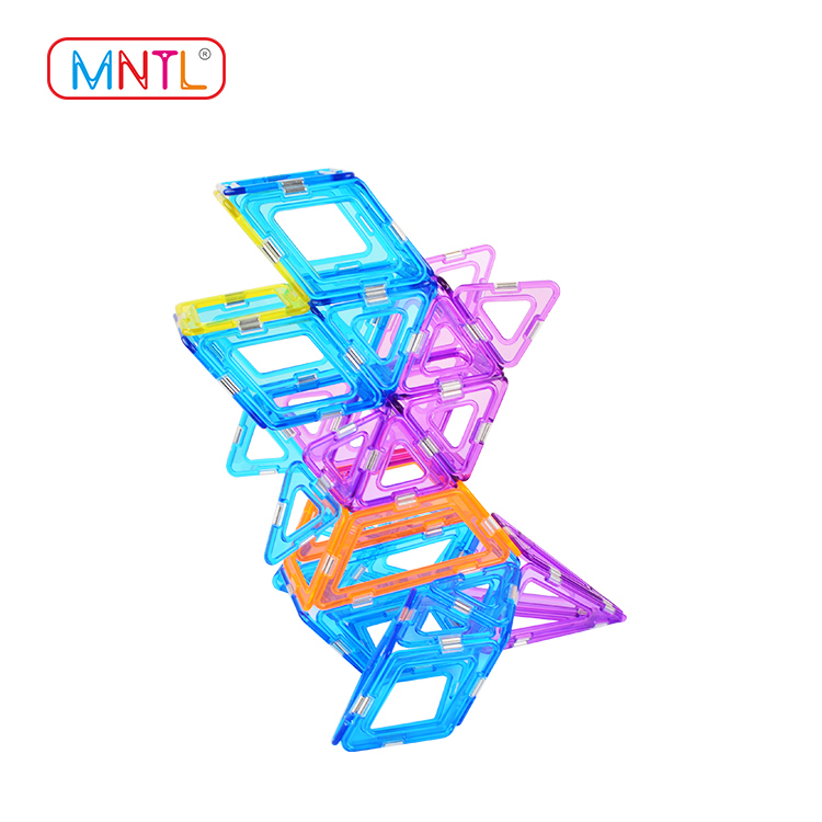 MNTL Magnetic Construction Blocks A8209 108 Pieces STEM Educational Toy Kit For Preschool Toddlers & Children