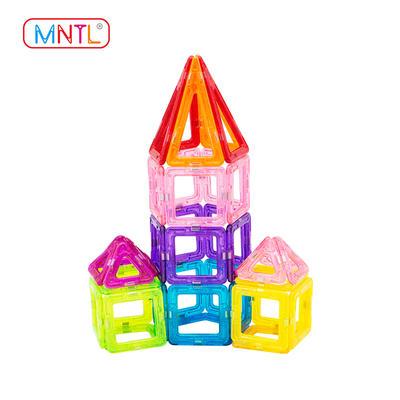 MNTL A8305 99 Piece Magnetic Building Blocks Kit, Mini Magnet Tiles Set Toys Diy for Kids Over 3 Years