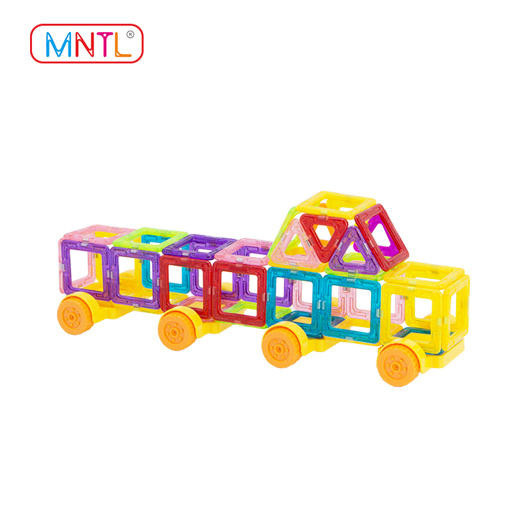 MNTL A8305 99 Piece Magnetic Building Blocks Kit, Mini Magnet Tiles Set Toys Diy for Kids Over 3 Years