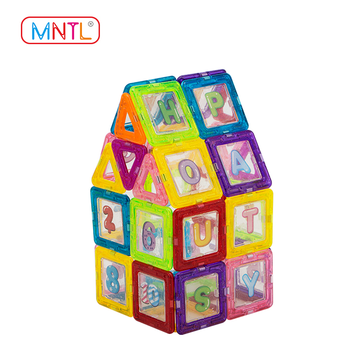 Best toy for children childrens magnetic blocks orange, for wholesale For kids over 3 years-1