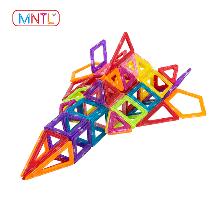 MNTL A8307 116 PCS Mini Size Magnetic Blocks Building Tiles Construction Stacking Toys Set