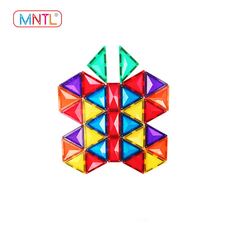 MNTL B8121 Magnetic Building Blocks Set - Magnet Toys Building,Magnetic Tiles, Strongest Magnets