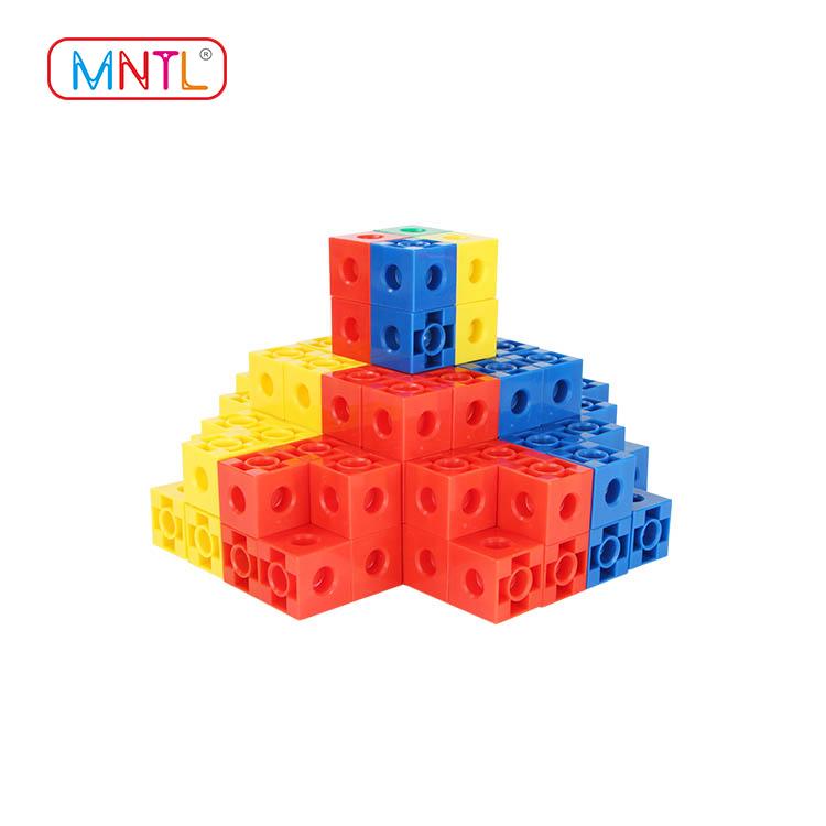ABS plastic baby blocks toys deep blue deep blue For kids-2