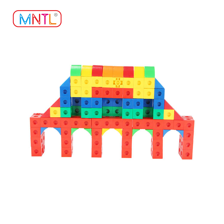 MNTL 186Pcs Magic ABS plastic magnetic building toys cube kids connect blocks toys H8103