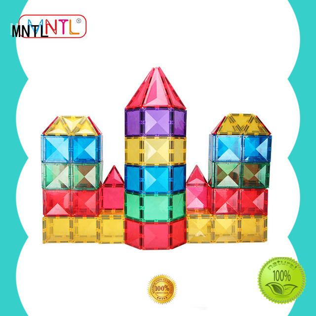 MNTL deep blue magnetic building blocks Best Toys For Children