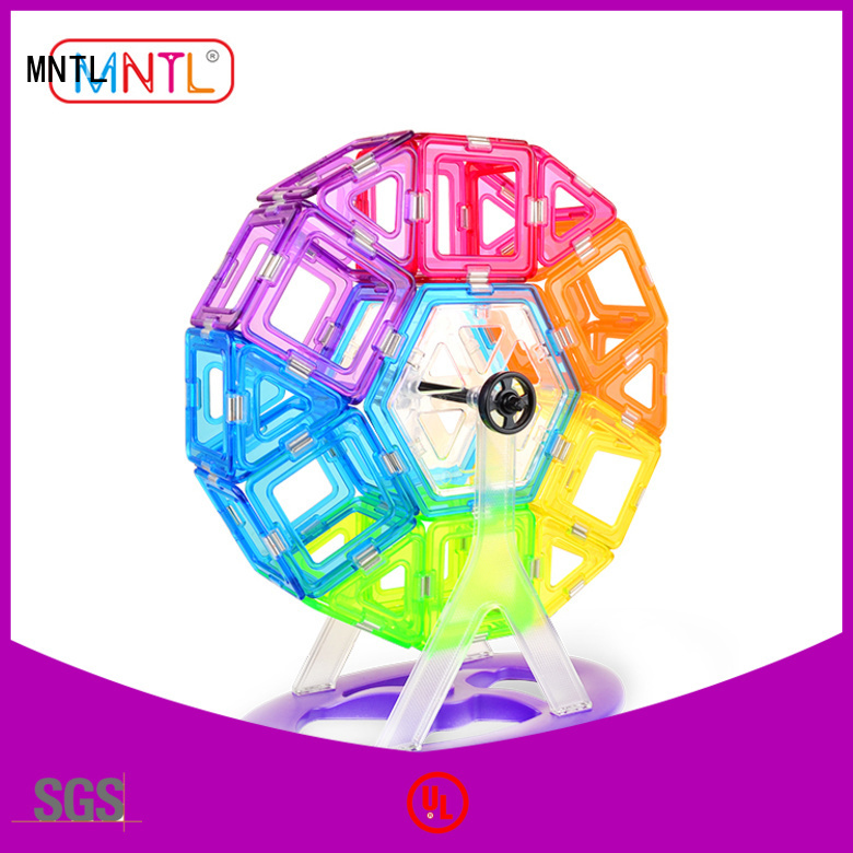 MNTL Conventional Crystal magnetic toys free sample For Children