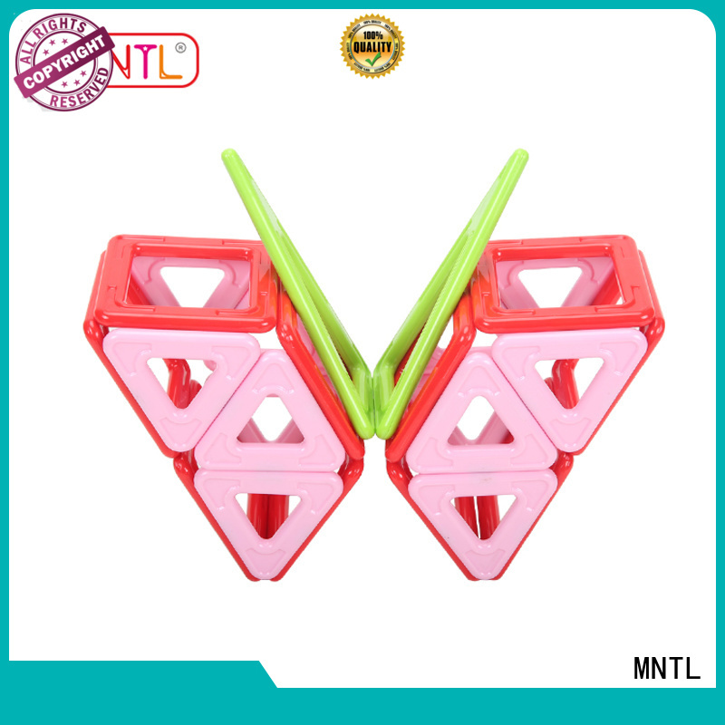 MNTL Newest magnetic toys for toddlers rose red For kids