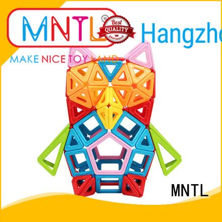 MNTL deep blue, Classic Magnetic Building Blocks DIY For Toddler
