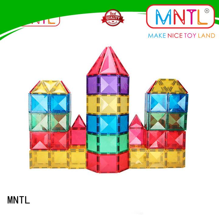 MNTL Recreational magnetic tiles Magnetic Construction Toys For Children