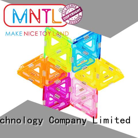 MNTL strong magnet Crystal magnetic toys for wholesale For Children