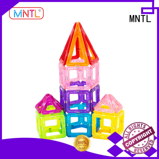MNTL 2019 hot toys magnetic building block set free sample For kids over 3 years