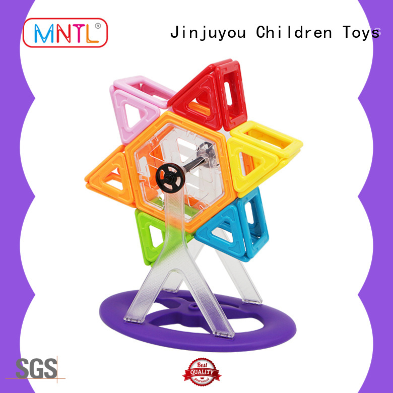 MNTL ABS plastic magnetic blocks DIY For kids