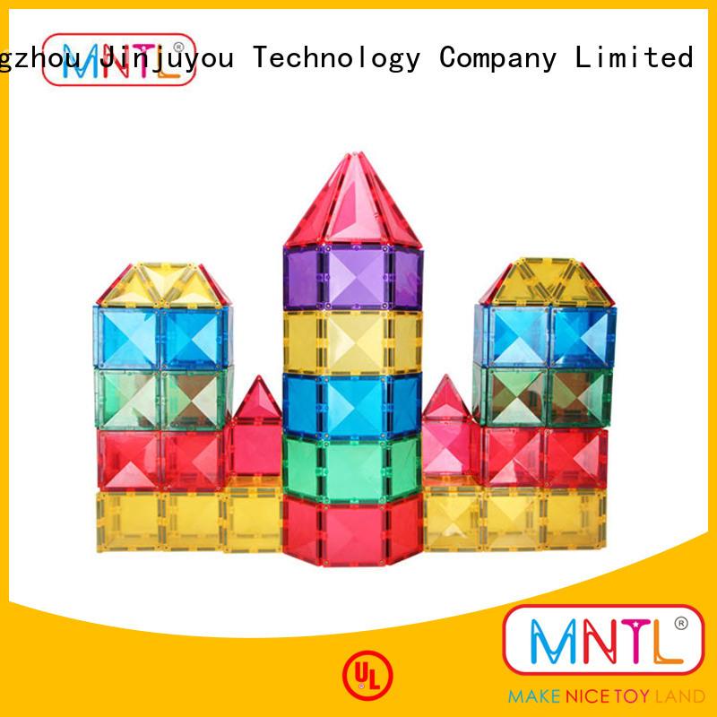 MNTL Educational Conventional magnetic building blocks DIY For kids