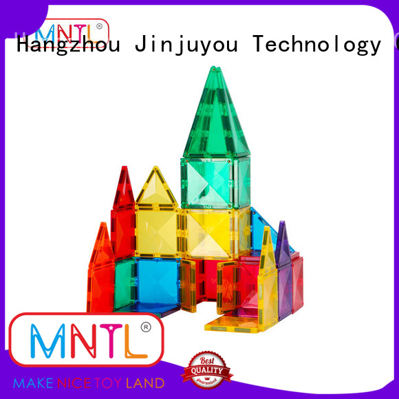 MNTL solid mesh Magnetic Building Tiles Best Toys For Children