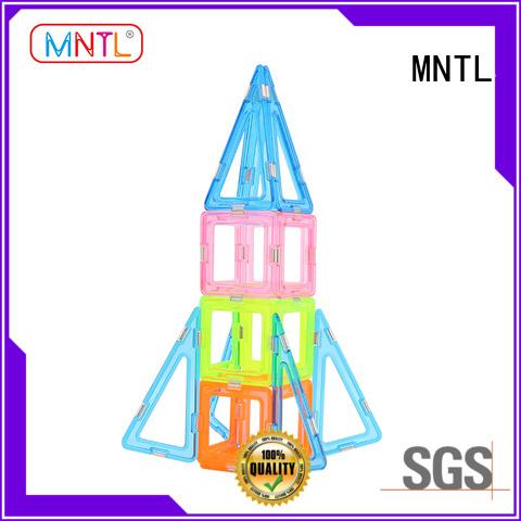 MNTL Conventional magnetic block set ODM For Toddler