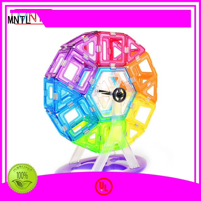 latest Crystal Magnetic Building Blocks strong magnet bulk production For Children