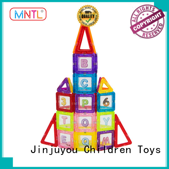 MNTL High quality magnetic building block set ODM For kids over 3 years