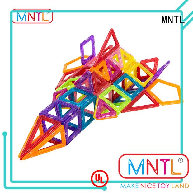 MNTL purple Mini magnetic tiles supplier For kids over 3 years
