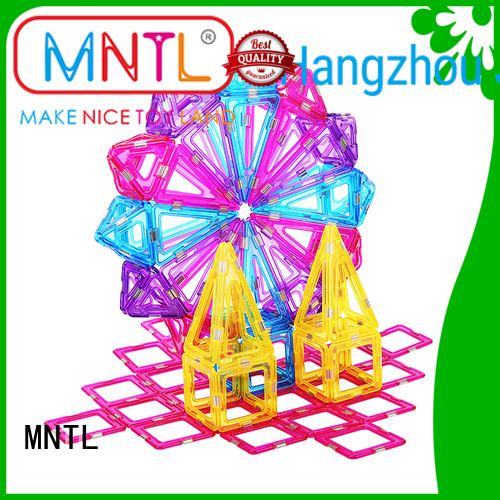 MNTL High quality Crystal magnetic toys customization For kids