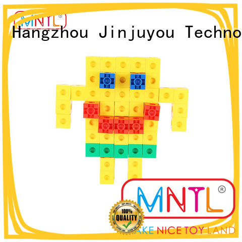 MNTL Educational Conventional Plastic Magnetic Building Tiles Recreational For Children