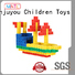 High quality plastic blocks toys Red, ABS plastic For Children