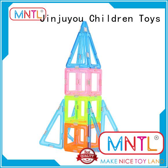 MNTL funky Crystal Magnetic Building Blocks bulk production For kids