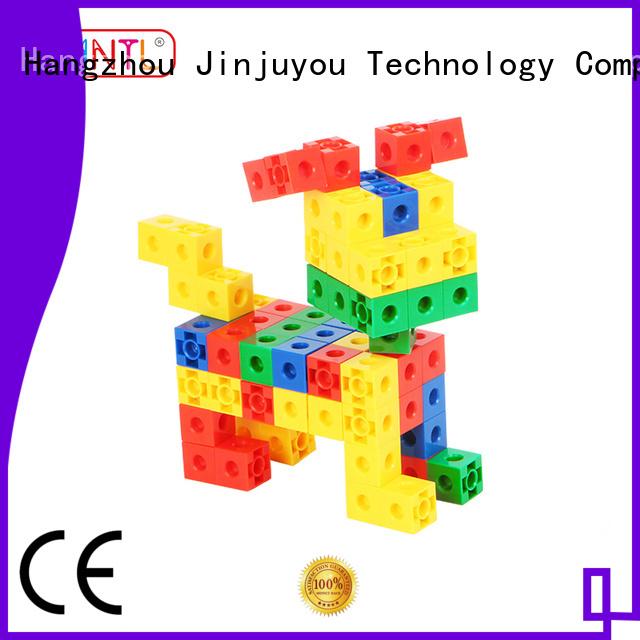 MNTL Inspirational plastic blocks for construction purple For Children