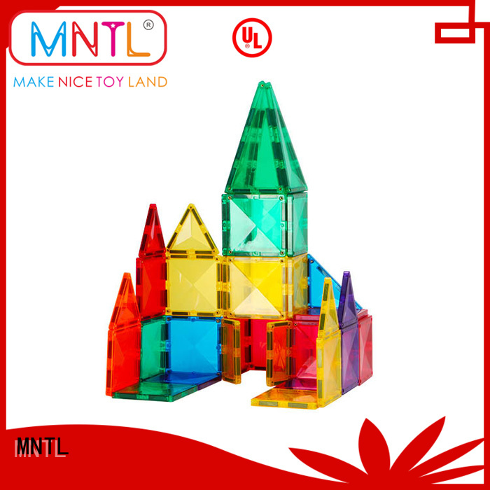 MNTL Red, childrens magnetic tiles Best Toys For 3 years old