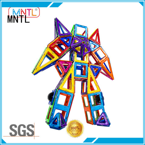 MNTL green, Classic Magnetic Building Blocks Best Toys For Toddler