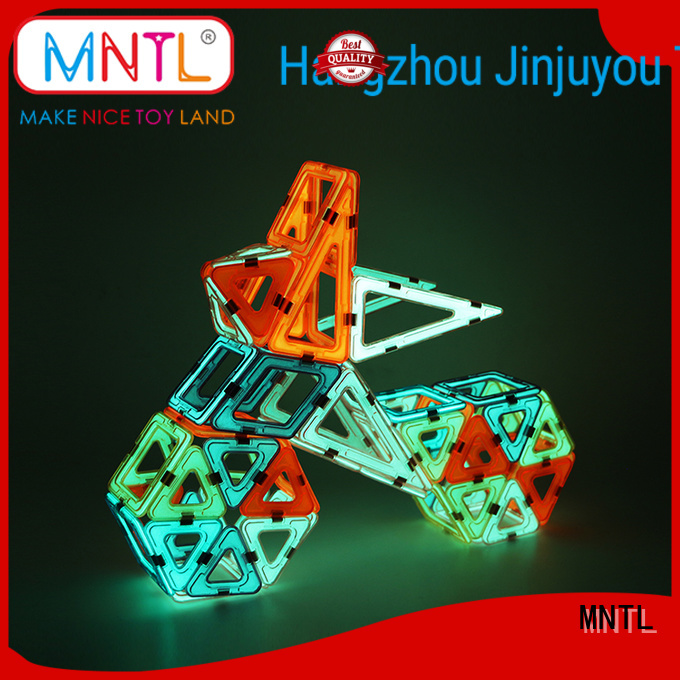 2019 Classic Magnetic Building Blocks rose red Best building block For Children