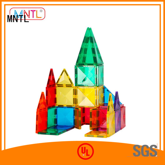 MNTL latest magnetic building blocks DIY For 3 years old