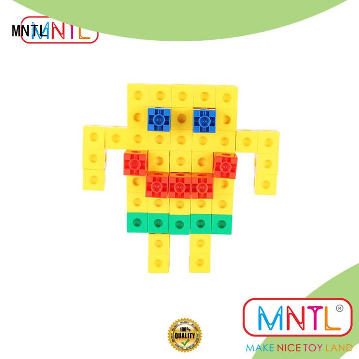 MNTL green, plastic building blocks for toddlers yellow, For Children